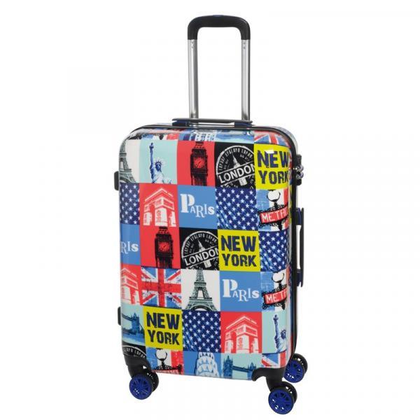 2f9649129430e 3-częściowy zestaw walizek na kółkach METROPOLITAN | Inspirion